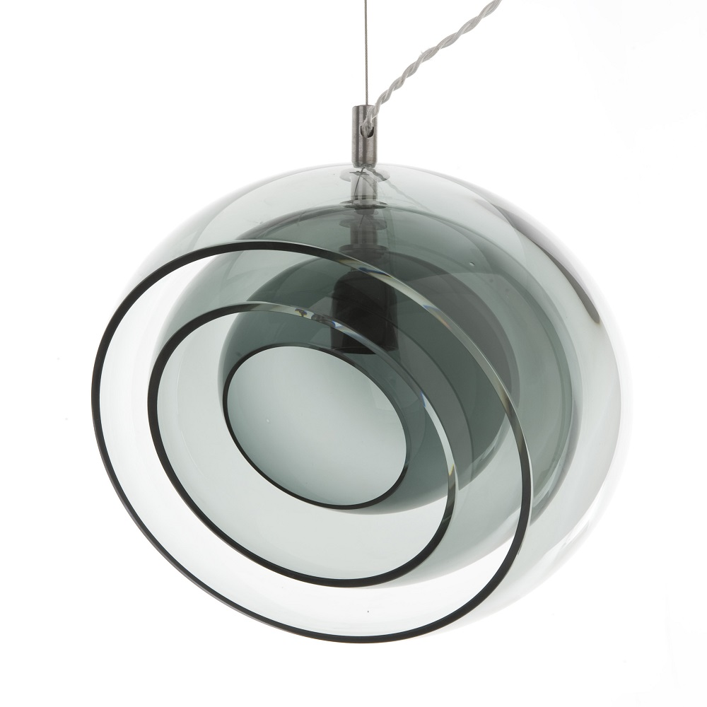 E27 Modern Simple Transparent Glass Pendant Lamp for Home, Hotel and Restaurant Use