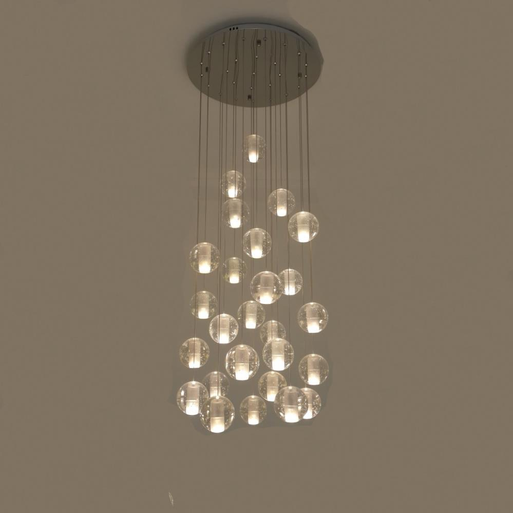 Bocci Modern Ball Pendant Light LED Crystal Ball lighting For Chandelier (5014101)