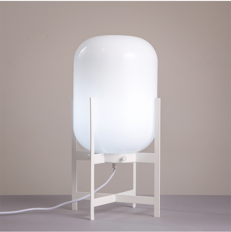 Glass Table Lamp Modern Creative Bedside Lamp Project Lightings Hotel Home (5001301)