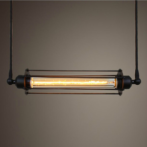 Indoor decoration Retro rustic Style restaurant industrial vintage pendant lamp
