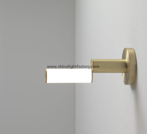 Contemporary Simple style glass wall sconce for Hospitality lighting #4209
