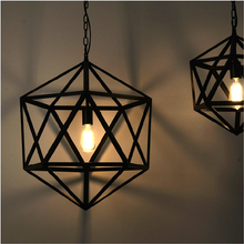 Retro interior home pendant light decorative loft coffee chandelier lighting