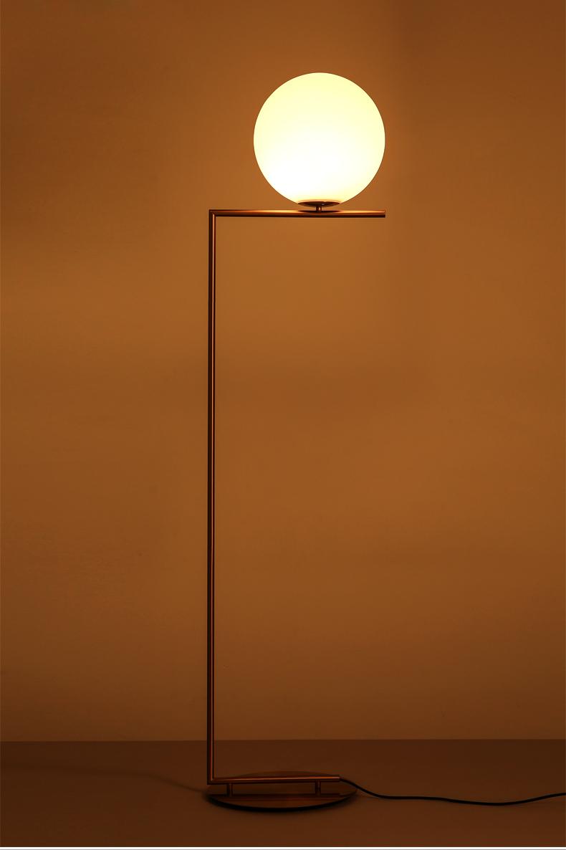 Gl Ball Modern Floor Lamp