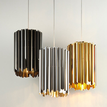 Modern Facet 18 Pendant Lighting Chrome Gold Color Lights (9000)