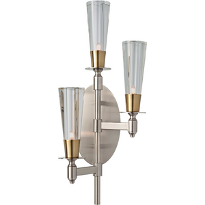 3-Lights G9 Metal Hotel Wall Lamp