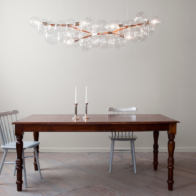 Modern Hubble-Bubble Glass Chandelier Lighting for Hot Sales