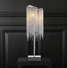 Table Lamp with Metal+ Crystal of Excellent Table Lighting
