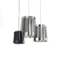 Stainless steel+Crystal with E14 Cheap Hanging Lighting Pendant Lamp