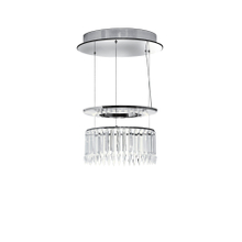 New design with Stainless steel+ Crystal Modern Chandelier Light